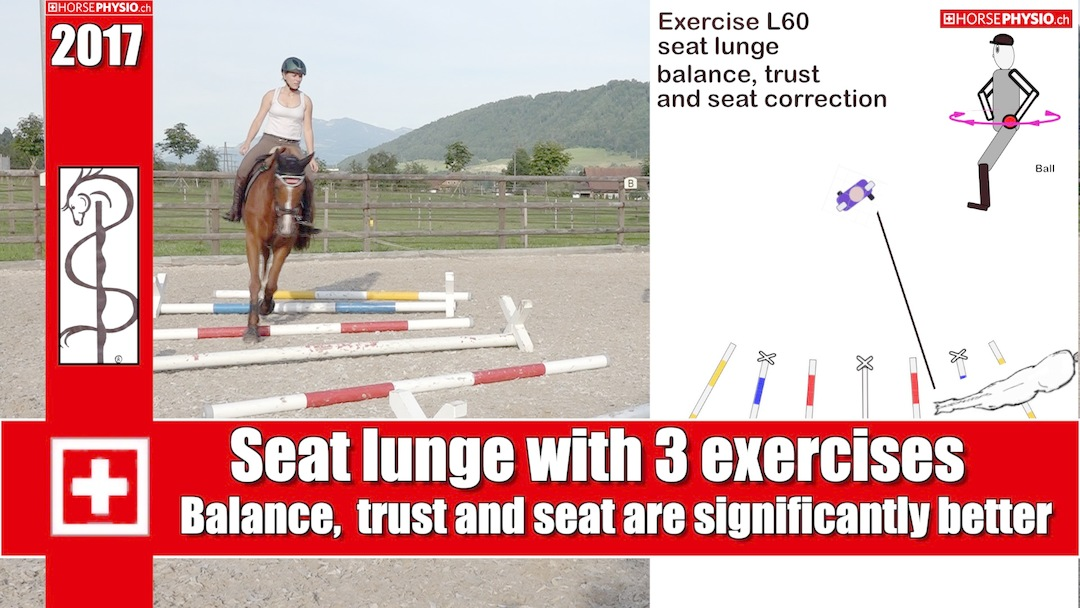 Seat lunge exercise L60